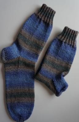 Socken handgestrickt