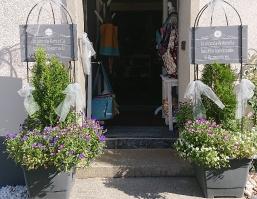 Eingangsbereich zum Atelier und Laden