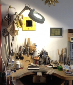 Mein Werktisch