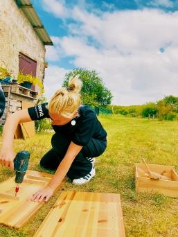 Meine Arbeit mit Holz