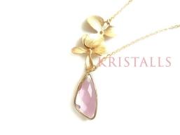 Halsketten KRISTALLS