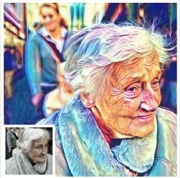 Kunstdruck auf Leinwand - Portrait von Deinem Foto - Digital Painting Art