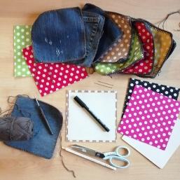 Upcycling-Projekt Tasche