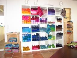 Wolle in allen Farben