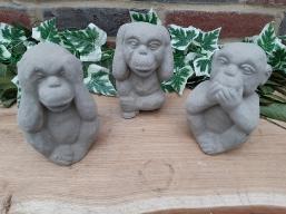 Affen Trio