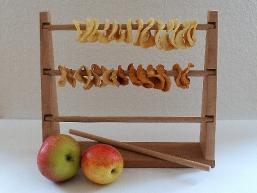 Apfelringetrockner