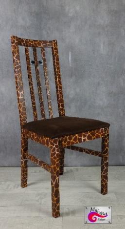 Holzstuhl - Giraffe