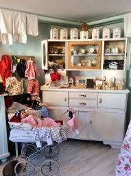 Baby Kleidung in der Seifenküche