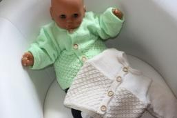 Babyjäckchen Kundenwunsch