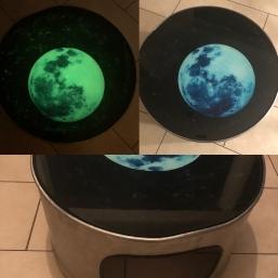 Couchtisch Moon Steel
