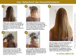 Die richtige Waschtechnik mit Haarseife