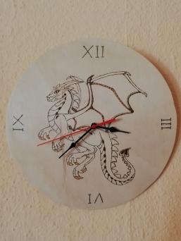 Drachenuhr