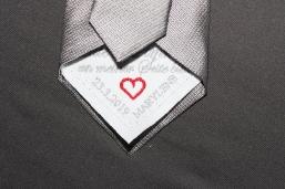 Einnäher für Krawatte