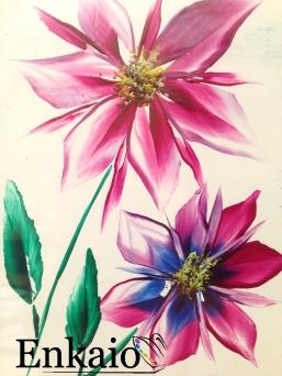 Encaustic Blume