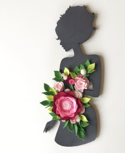 Filz Blumen