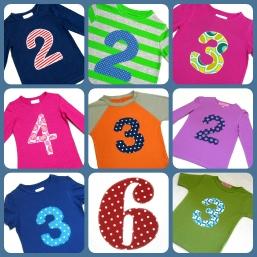 Geburtstagsshirts - Collage