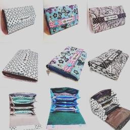 Geldbörsen mit neuen Muster und Farben