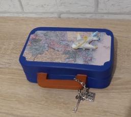Geschenkverpackung - Flugreise
