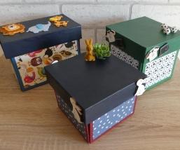 Geschenkverpackungen (Explosionsboxen)