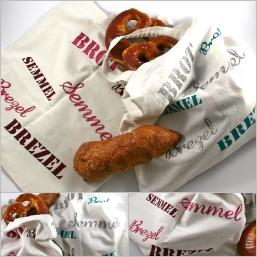 Glitzerbunte Bäckertaschen