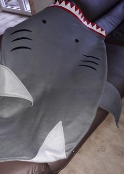 Haifisch-Decke für große Jungs