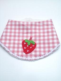 Halstuch Erdbeere
