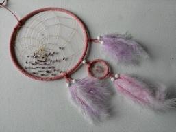 Handgefertigte Dreamcatcher - Traumfänger mit Edelsteinen