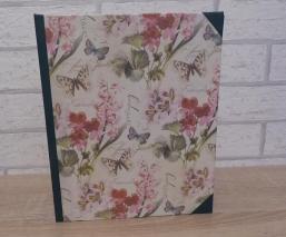 Handgefertigtes Ringbuch für DIN A5 - Schmetterling