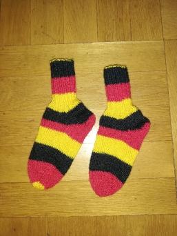 handgestrickt Socken