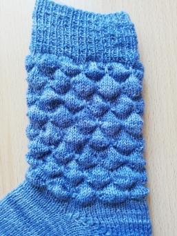handgestrickte Socken