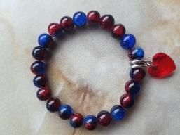 Handmade Glasperlen Armband