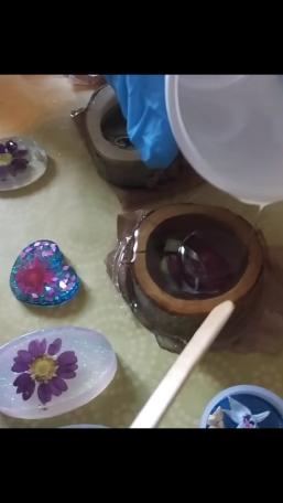 Handmade_Treasures bei der Arbeit