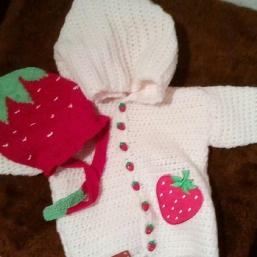 kleine Erdbeerlady