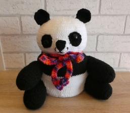 Klopapierhut - Pandabär