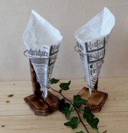 Kreatives aus Holz und Wolle