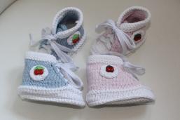Kundenwunsch Babyschuhchen