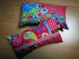 Lavendel- o. Kirschkernkissen  Mandala Yoga Meditation Kissenbezug Kuschelkissen, Einschlaf- Kissen, Schmusekissen,