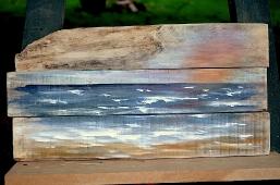 Maritimes auf Holz