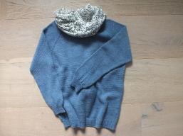 Mein Pullover ist fertig