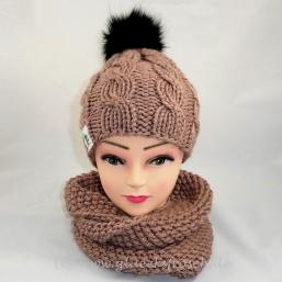 Mütze und Schal als Set