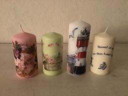 Neue Kerzen