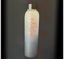 Personalisierte Borosilikatglas-Flaschen