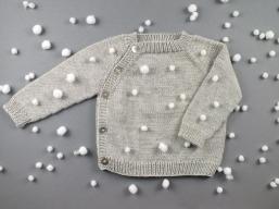 Pullover im Schneetreiben