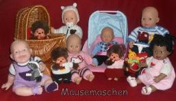Puppenkleidung von Mäusemaschen