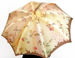 Regenschirm aus Seide