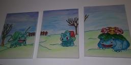Selbst gemalte Bilder