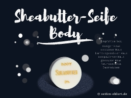 Sheabutter-Seife BODY