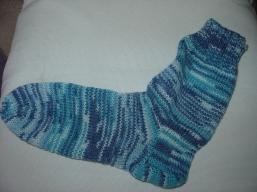 So entstehen Socken