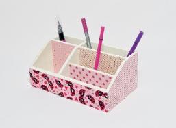 Stiftebox / Schreibtischorganizer