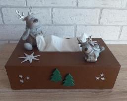 Taschentuch-/Kosmetiktuchbox Weihnachten